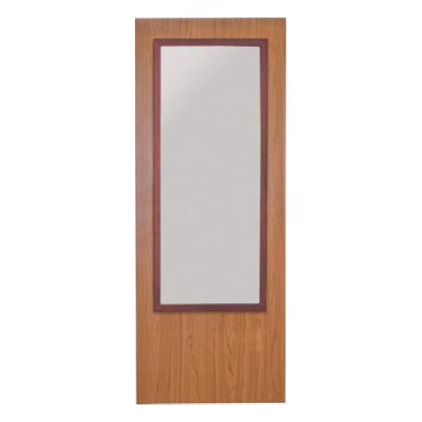 Puerta SAGA-100 CR con cristalera especial